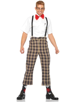 Costumes Nerdy Ned Men's Halloween