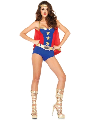 Costumes Comic Book Girl Super Hero