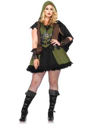 Costumes Darling Robin Hood Plus Size