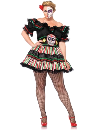 Costumes Day Of the Dead Doll