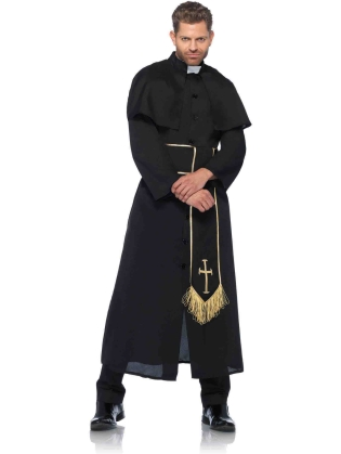 Costumes Priest Man's Custom
