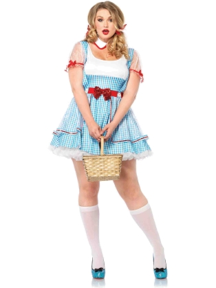 Costumes Plus Size Dorothy OZ Beauty