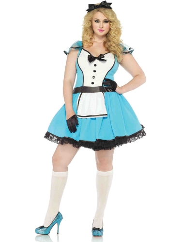 Costumes Storybook Alice Diva Size