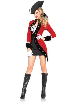 Costumes Rebel Red Coat