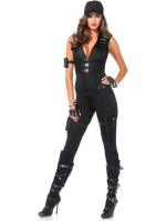 Costumes Deluxe SWAT Commander Catsuit