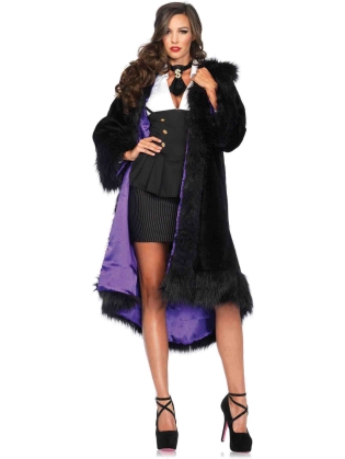 Costumes Faux Fur Coat