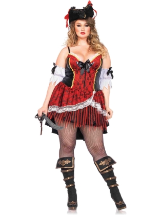 Costumes Curvy Pirate Halloween