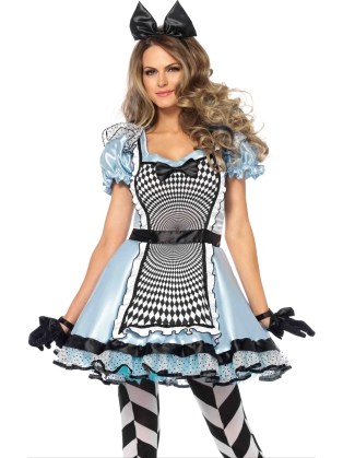 Costumes Hypnotic Miss Alice Dress