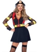 Costumes Hot Fire Captain