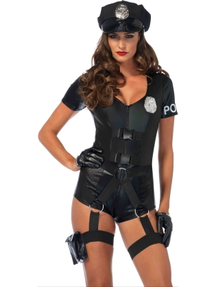 Costumes Captivating Crime Fighter