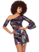 Costumes Retro Disco Chick Dress