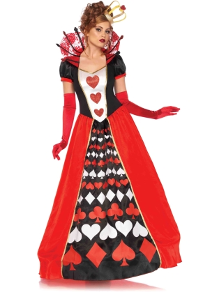 Costumes Deluxe Queen of Hearts