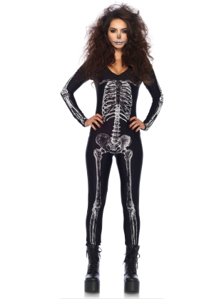 Costumes Skeleton Catsuit