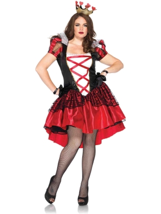 Costumes Royal Red Queen Plus Size