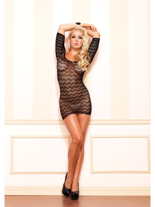 Dresses Crotchet Cut Out Mini Dress