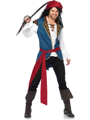 Costumes Men's Pirate Scoundrell