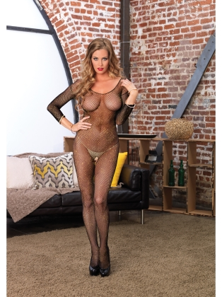 Stockings Ladies Long Sleeve Bodystocking