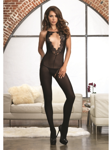 Stockings Women's Opaque Bodystocking