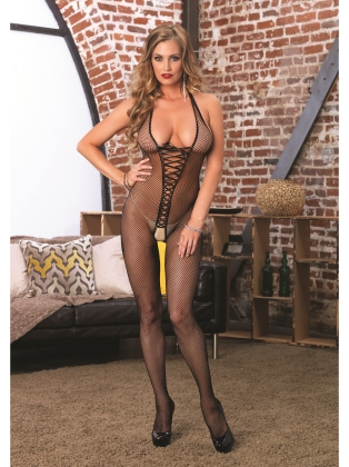 Stockings Bare Bottom Bodystocking