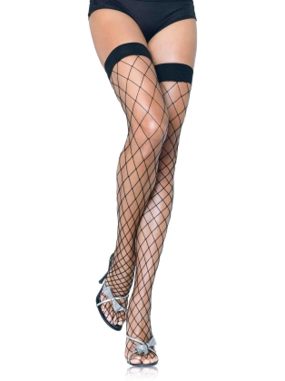 Stockings Women's Fishnet Thigh Highs