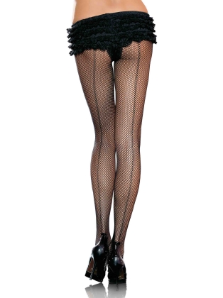 Stockings Women's Backseam Fishnets