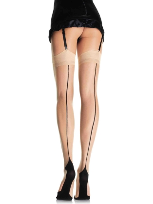 Stockings Lycra Cuban Foot Stockings