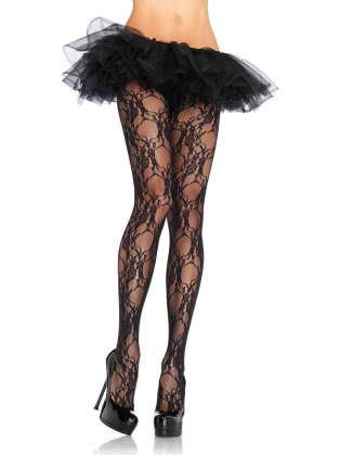 Stockings Floral Lace Pantyhose