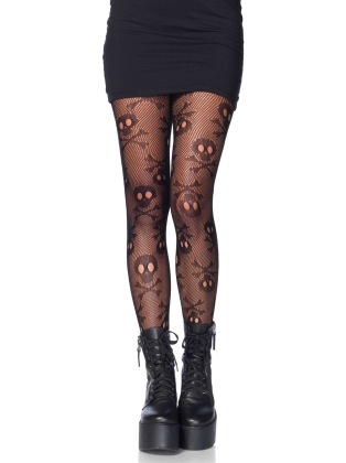 Stockings Pirate Booty Skull Pantyhose
