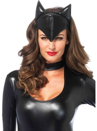 Costume Accessories Feline Femme Fatale mask