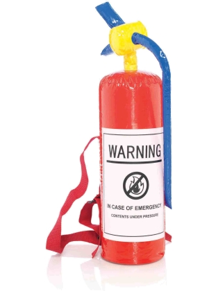 Costume Accessories Inflatable Fire Extinguisher