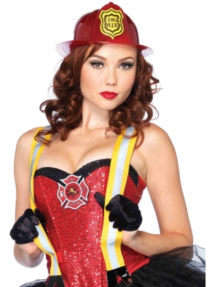 Costume Accessories Halloween Fireman's Hat