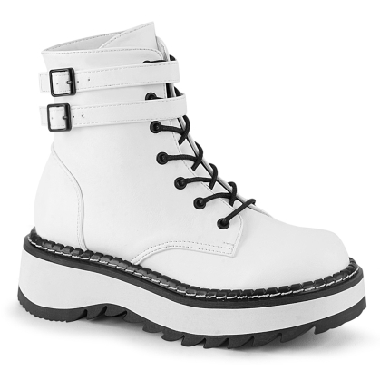 lilith 152 white vegan leather