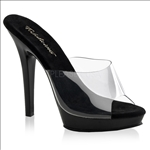 Pleaser Shoes With Five Inch Heels
