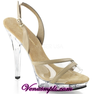 Pleaser 5 Inch Heel Evening Shoes