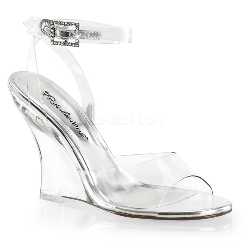 Pleaser Ladies Mid Heel Shoes