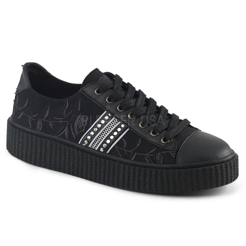 Domonia SNEEKER-106 Lace-Up Front Low Top Sneaker