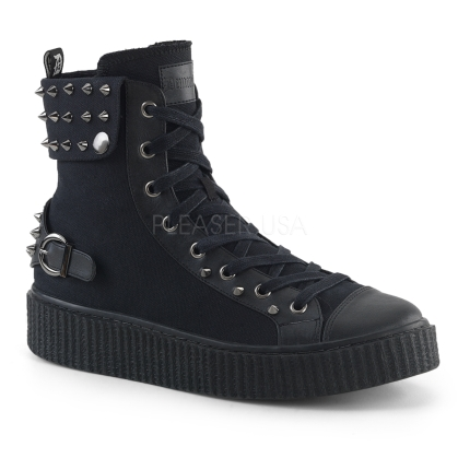 Domonia SNEEKER-266 Lace-Up Front HighTop Sneaker