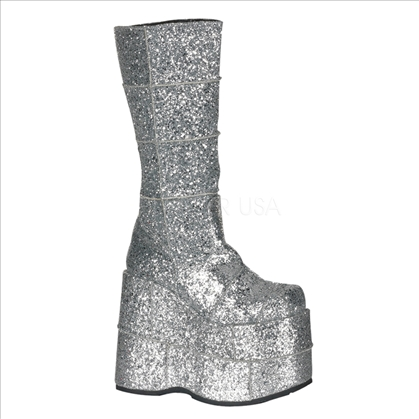 Pleaser Silver Platform Shoes