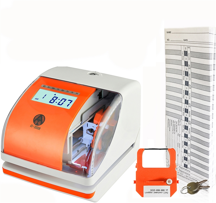 Time Clock and Date Stamp - AT-3000R Bundle