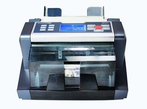 AccuBanker AB5000Plus Professional Bill Counter With Magnetic And Ultraviolet Counterfeit Detection