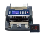 AccuBanker AB5800 Value Extension Bill Counter with Magnetic and Ultraviolet Counterfeit Detection