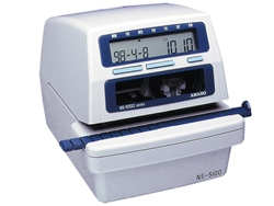 Amano NS5100 Electronic Time/Date/Numbering Stamp