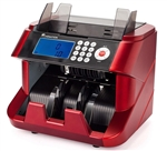 Carnation CR2300 Bank Grade Bill Counter with Magnetic Ultraviolet & Infrared Counterfeit Detection