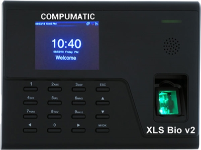 Compumatic XLS-BIO Biometric Fingerprint System