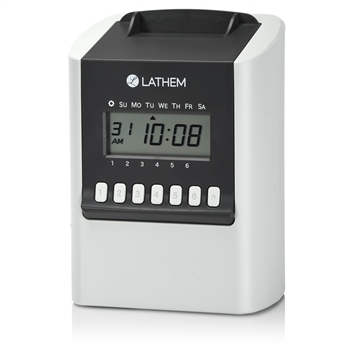 Lathem 700E Calculating Time Recorder