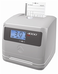 Pyramid 4000 Calculating Time Recorder