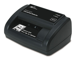 Royal Sovereign RCD-2120 Counterfeit Bill Detector with Ultraviolet, Magnetic and Watermark Detection