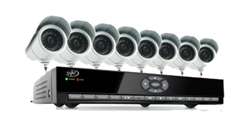 SVAT Smartphone Compatible, Web Ready DVR System with Coaching Menu, 16 Channels and 8 Cameras