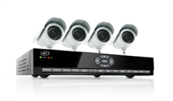 SVAT Smartphone Compatible, Web Ready DVR System with Coaching Menu, 8 Channels and 4 Cameras