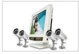 SVAT Digital Wireless DVR Security System with 7' LCD Monitor, SD Card for Recording and 2 Long Range Night Vision Cameras
